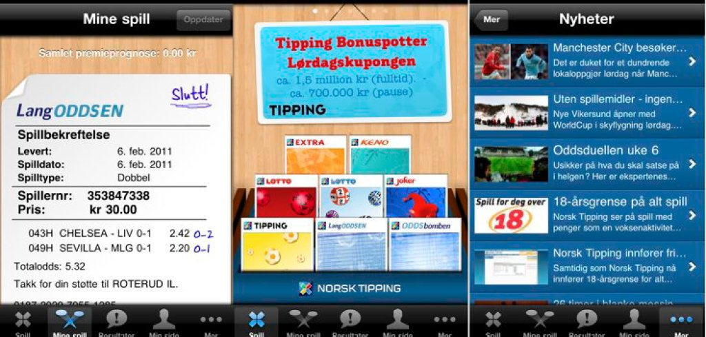 Norsk tipping lotto app